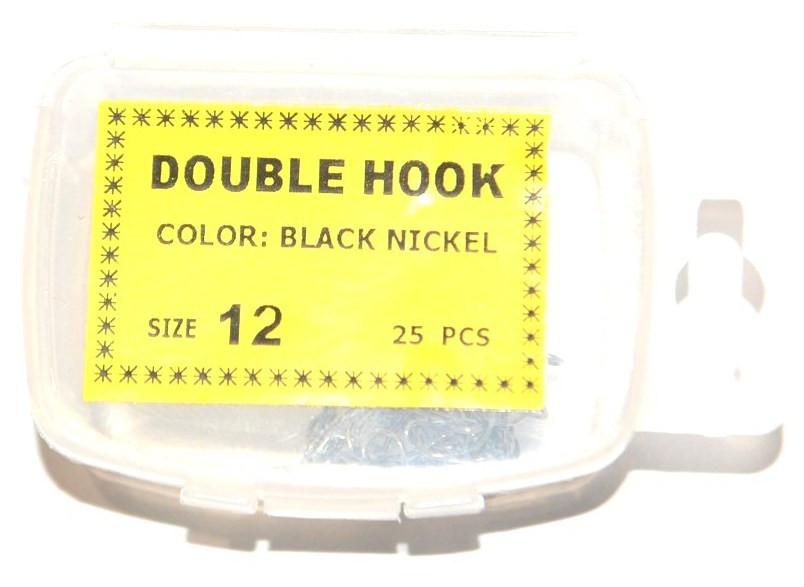 Крючки рыболовные Siweida двойники №12, 25шт