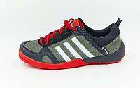 Кроссовки Adidas Doroga (36-40) красный-серый