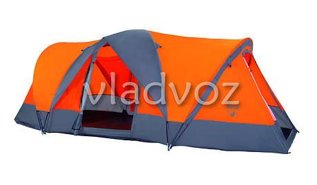 Палатка туристическая кемпинговая Traverse 4-х для кемпинга местная с чехлом, фото 2