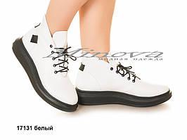 Ботинки №17131-белый