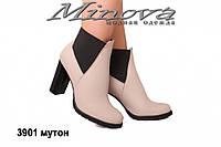 Ботинки ЦГ№3901-мутон кожа