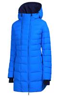Куртка удлиненная зимняя snowimage g311  красный голубой