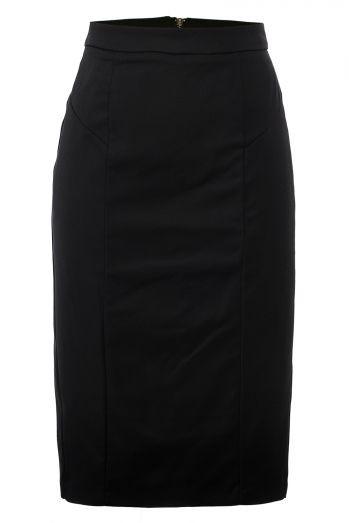 Женская юбка-карандаш, черного цвета GLO-Story