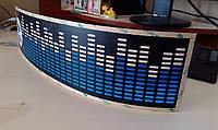 Неоновый эквалайзер Лада Lada размером 45*11 см