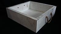 Ящик деревянный для цветов, 27х27х8 см, 140\110 (За 1 шт +30 грн)