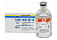 Натрій хлористий 10% р-н (200 мл)