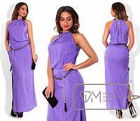 Длинное легкое платье из штапеля в больших размерах (разные расцветки) j-1515651