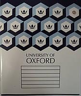 """Тетрадь школьная 24 листа/клетка """"Oxford Шахматка"""" , ЗУ 793620"""