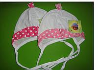 Летняя шапочка для девочек размер: 38-42