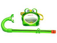 Маска и трубка для плавания Intex 55940 Froggy Fun Set (от 3 до 8 лет)
