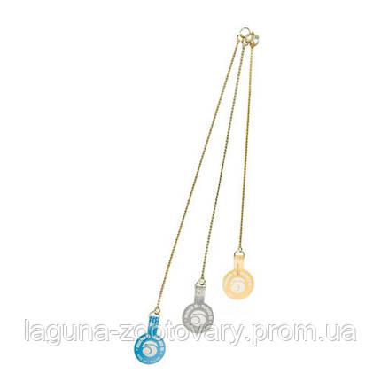 Ring5 Экстракласс золотая (ExtraFine Gold) плетенная цепочка для собак, фото 2
