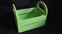Ящик деревянный для цветов, 20х15х16 см, 170\140 (за 1 шт + 30 грн)