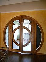 Двери из дуба, изготовление и монтаж