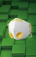 Полумаска фильтрующая MAS-NEOSEC-2P1