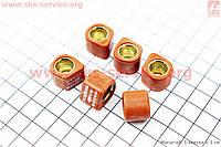 Ролики вариатора 16*13 - 8.5  грамм тюнинг 6 штук