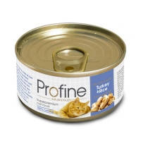 Profine (Профайн) Turkey & Rice — консервы для кошек 70гр