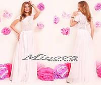 Платье КЮ №220-белый