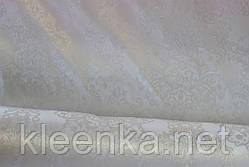 Клеёнка для стола ШЕЛКОГРАФИЯ белая, фото 2