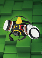 Полумаска фильтрующая SECURA2000-CHEM