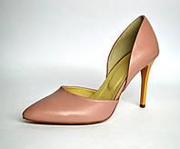 Туфли открытые на высокой шпильке