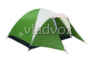 Палатка туристическая кемпинговая Montana 4 для кемпинга местная с чехлом, фото 2