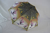 """Жіночий парасольку тростину з літніми візерунками від фірми """"Lantana""""."""