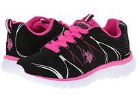 Фирменные кроссовки US POLO ASSN - Teri, оригинал, цвет черный,