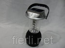 Кемпинговый динамо-фонарь-лампа FQ 766 со встроенной солнечной панелью, зарядка 12Вт, 220Вт