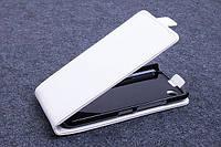 Чехол флип для Blackberry Z30 белый
