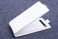 Чехол флип для Blackberry Classic Q20 белый