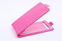 Чехол флип для Blackberry Classic Q20 розовый