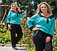 """Летний женский костюм с брюками в больших размерах 757 """"Бургас Комби"""" в расцветках, фото 6"""