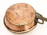 Антикварні сковорода, сковорідка, мідь, Німеччина, фото 6