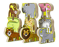 Деревянная головоломка укладка Melissa & Doug - Сафари, фото 1