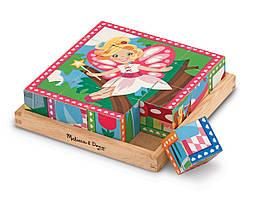 Кубики Принцеси й феї Melіssa & Doug (MD19040)
