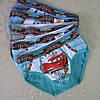 """Трусики  для мальчиков """"Тачки"""".Размер L (8/10 лет).  Детские трусики, трусы для детей, трусы для мальчиков."""