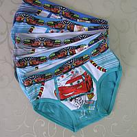 """Трусики  для мальчиков """"Тачки"""".Размер L (8/10 лет).  Детские трусики, трусы для детей, трусы для мальчиков., фото 1"""