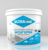 """Интерьерная краска """"ULTRAtone"""" для стен и потолков, стойкая для сухого стирания 1,4кг"""