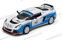 KINSMART Lotus Exige R-GT, 2012, в кор. /96-4/
