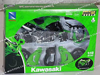 N.R.Мотоцикл сборка (1:12) KAWASAKI(42445A)