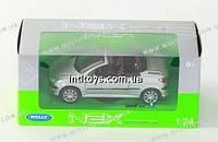 Welly. Модель 1:24 Peugeot  206CC /6/(22413W)