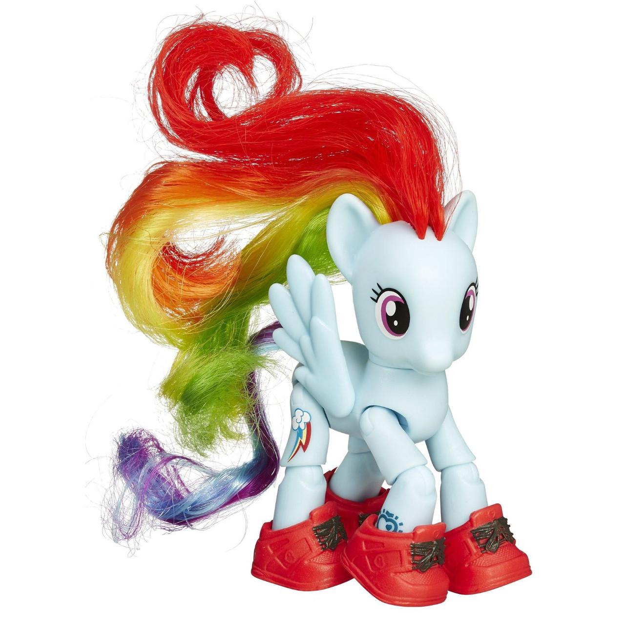 My Little Pony Радуга Рейнбоу Дэш Friendship is Magic Rainbow Dash Sightseeing Figure