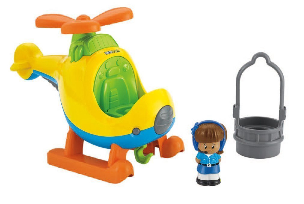 Fisher-Price Пилот Миа и вертолет Little People Helicopter