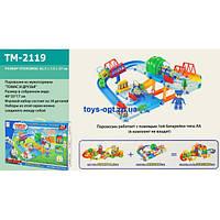 Трек детский паровозик Томас со звуковыми эффектами TM-2119