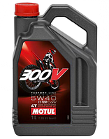 Моторное масло Motul 300V 4T FACTORY LINE OFF ROAD SAE 5W40 4L