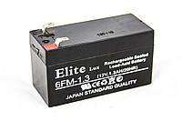 Аккумулятор ELITE LUX 12V 1.3 AH