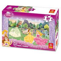 Пазл Trefl 99 Принцесса на траве Disney EQL 64195 Ч