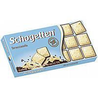 """Шоколад """"Schogetten"""" Stracciatella (Шогеттен Страчателла), 100г, Германия"""