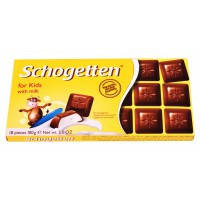 "Шоколад ""Schogetten for kids"" (детский Шогеттен), Германия, 100г"