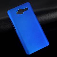 Пластиковый чехол для ZTE Blade L3 синий